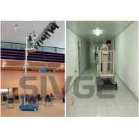 Wholesale GTWZ6-1006 Hydraulic Lift Ladder Single Mast Mobile Elevating Working Platform from china suppliers