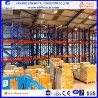 Wholesale Metallic Multi-layers Powder Coated Heavy Duty Racking / Drive in Rack from china suppliers