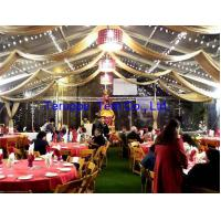 Quality 35 X 15 Party Festival Marquee Tent Support Curtain Lining Light And Table for sale