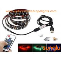 Wholesale USB Powered 5V RGB Black Flexible LED Strip Lights for TV Back Lighting , Desk , Trucks from china suppliers