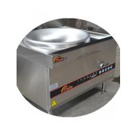 Wholesale Single burner electromagnetic frying stove 20KW large induction wok With 1.2mm stainless steel from china suppliers