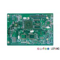 Buy cheap Immersion Gold Printed Copper Clad PCB Board 4 Layers For Tablet Display from wholesalers