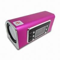 Wholesale Bluetooth Speaker with 4GB USB Flash Drive, Made of Aluminum-alloy Material from china suppliers