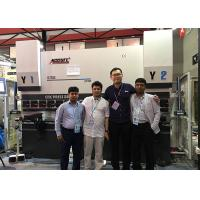 Quality Large 250 Ton CNC Press Brake Machine Hydraulic Press For Sheet Metal Bending 3 Axis for sale