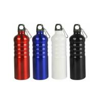 China Red Aluminum Kettle Riding Bike Cycling Water Drink Bottle Bicycle Water Bottle for sale