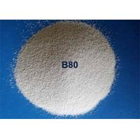 China Durable Efficient Ceramic Bead Blasting Spherical Shape For Steel Descaling for sale