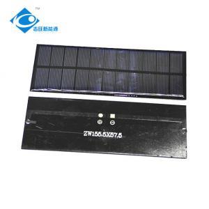 China Custom Mini Epoxy Solar Panel For Solar Power Toys / Electric Bike Solar Charger Solar Panel Photovoltaic on sale