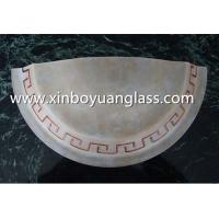 Wholesale Half-cut Centrifugal glass wall lampshades from china suppliers