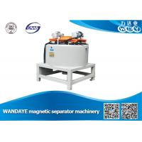 Wholesale Automatic 3T Dry Magnetic Separator With Water / Oil Double Cooling from china suppliers