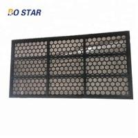 China Brandt 1165x585mm High Quality API Durable Steel Frame Screens for Drilling Oil and Gas Rig for sale