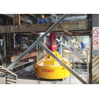 China Concrete Counter Current Mixer Simple Structure PMC750 No Hidden Corners Ceramic Material for sale