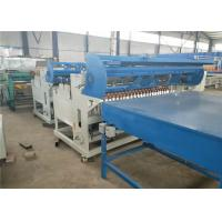 Buy cheap Fully Automatic Welded Wire Mesh Machine , Black Wire Steel Wire Mesh Machine from wholesalers