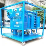 Weather-Proof 10000L/H Vacuum Transformer Oil Treatment Machine