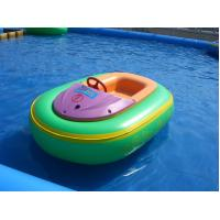 Wholesale Mini 0.9mm PVC Swimming Pool Toys Inflatable Motorized Bumper Boat from china suppliers