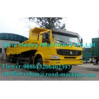 Wholesale Tri Axle Dump Truck Heavy Load Truck Unloading And Transport  Heavy  Duty Truck Dumper from china suppliers