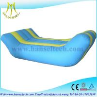 China Hansel Inflatable Water mat inflatable water float mat on sale