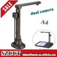 China Popular in office 5MP CMOS A4 dual camera scanner with OCR function on sale