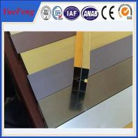 Wholesale hot selling! extruded aluminum channel / aluminum glass channel OEM from china suppliers