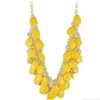 Wholesale OEM lead free Stainless Steel yellow decorative allah muslim islamic epoxy crystal resin pendant from china suppliers