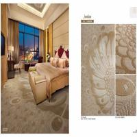 China Luxury Bedroom Modern Patterned Carpet Machine Carved Peacock Pattern for sale
