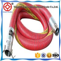 Wholesale 8 inch Red double spiral steel wire reinforced  PVC chemical composite hose from china suppliers