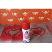 Fluorescent Water Based Spray Paint Washable Chalk Paint For Kids for sale