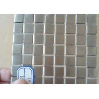 Wholesale Decorative Flat Wire Mesh Stainless Steel Plain Weave For Exhibition Hall from china suppliers