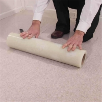 Wholesale Anti Paint Spills 24 Inch 3.4mil Self Adhesive Carpet Protector Film For Hotel Renovation from china suppliers