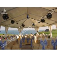Wholesale White and Blue Top Lining Outdoor Party Tents Structure, aluminum profile from china suppliers