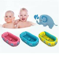 Wholesale Folding Portable Inflatable Baby Bathtub,Children Washbowl Tub,Baby Swimming Pool from china suppliers