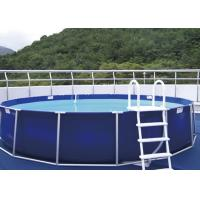 Quality Personal Use Steel Frame Pool , Metal Frame Paddling Pool EN71 for sale