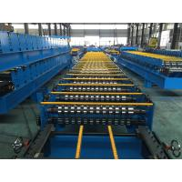 25 Stations Roof Panel Roll Forming Machine Coil Width 1000mm High Productive
