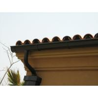 Wholesale Lightweight Square Rain Gutters , Roof Rain Gutter Seamless Rain Gutter from china suppliers