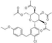 Wholesale Dapagliflozin Intermediates; CAS: 461432-25-7; Dapagliflozin; building blocks; 99%;C29H33ClO10 from china suppliers
