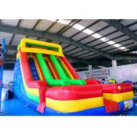 Wholesale 0.55mm PVC Blow Up Large Inflatable Slide With Colorful For Backyard Kids' Party from china suppliers