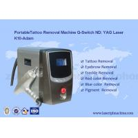 Portable Q - Switch Laser Tattoo Removal Machine Powerful 500-1000V for sale
