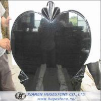 Big Heart Shaped Granite Tombstone, Love Expression Granite Monuments for sale