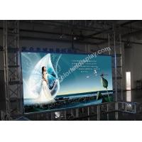 China Advertising P7.62 Full color LED display / indoor led screen with VMS Video Processor on sale
