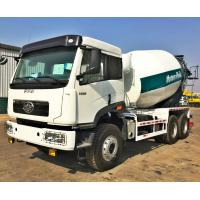 Buy cheap 7 m3 cement mixer truck, 8 m3 concrete mixer truck, 9 m3 concrete truck, truck mounted concrete mixer from wholesalers