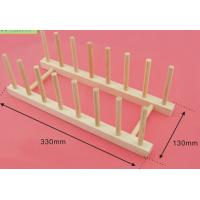 Wholesale Wood Flat Plate Drying Rack /Pot Lid Holder from china suppliers