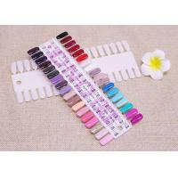Wholesale 36 Tips False Gel Polish Nail Display Board / Art  Nail Manicure Tool For Practice from china suppliers