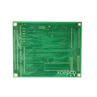 Buy cheap Fr4 Double Sided PCB , Immersion Silver  Board ems customized electronic 2layer 94v0 blank hasl circuit board from wholesalers