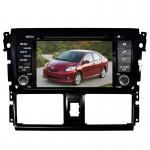 China Car dvd player navi TOYOTA GPS Navigation with dvd gps radio Vios Yaris for sale
