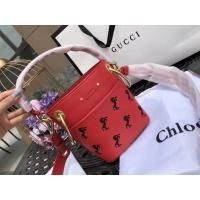Wholesale Chloe Young The Owen Series Pony Embroidery Bucket Package chloe Drew Metal Wide Shoulder Strap from china suppliers
