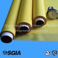High tension and low elongation screen print mesh for textile printing for sale