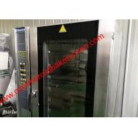 China 10 Trays Digital Control Electric Convection Oven , Stainless Steel Hot Air Oven for sale