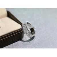 Wholesale Cartier Love Ring 18k White Gold Pave Diamonds N4210400 high quality jewelry from china suppliers