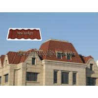 Wholesale stone coated metal roof tile from china suppliers