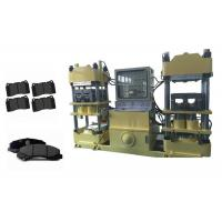 Buy cheap 400 Ton Hydraulic Press Brake Pad Manufacturing Machinery With PLC Control from wholesalers