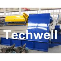 Wholesale Custom 5 - 20 Ton Curving Machine Hydraulic Decoiler With Pneumatic Damp Pressing Arm from china suppliers